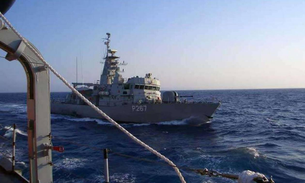 Συναγερμός στα Ίμια - Σύγκρουση της κανονιοφόρου «Νικηφόρος» με τουρκικό σκάφος