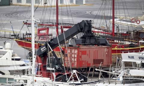 ''Andromeda'': Προσωρινά κρατούμενος ο αρχιπλοίαρχος και διαχειριστής του πλοίου με τα εκρηκτικά