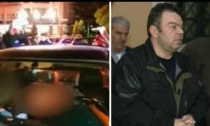 Ντοκουμέντο: Ο Βασίλης Στεφανάκος μέσα στο αυτοκίνητό του λίγα λεπτά μετά τη μαφιόζικη εκτέλεση