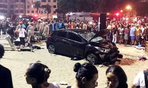 Βραζιλία: Αυτοκίνητο παρέσυρε πεζούς - 15 τραυματίες και ένα νεκρό βρέφος (pics-vid)