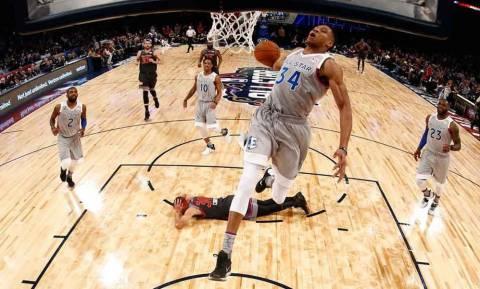 NBA All Star Game: Φοβάται… και θέλει Giannis ο Κάρι! (pics+vids)