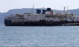 Στη Σαλαμίνα ρυμουλκείται το παροπλισμένο πλοίο «Παναγιά Αγιάσου»