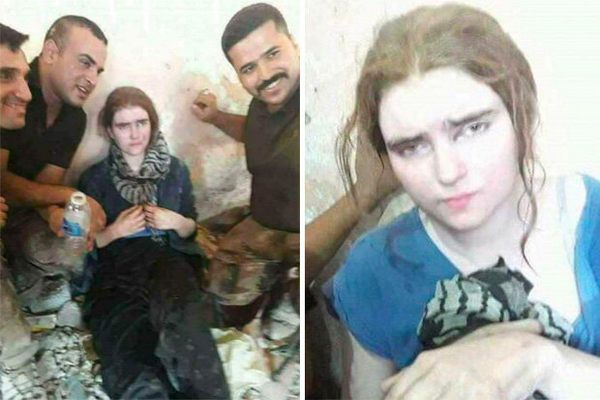 german isis girl