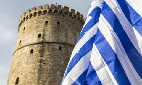 Συλλαλητήριο – Οι συγκλονιστικές εικόνες από τη Θεσσαλονίκη που προκαλούν ανατριχίλα