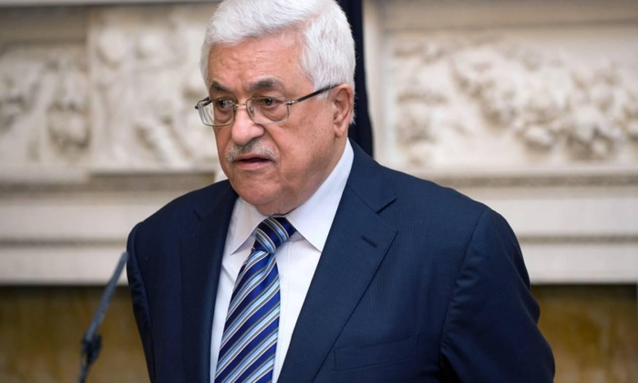 Ο Μαχμούντ Αμπάς θα ζητήσει τη στήριξη της ΕΕ για την Παλαιστίνη