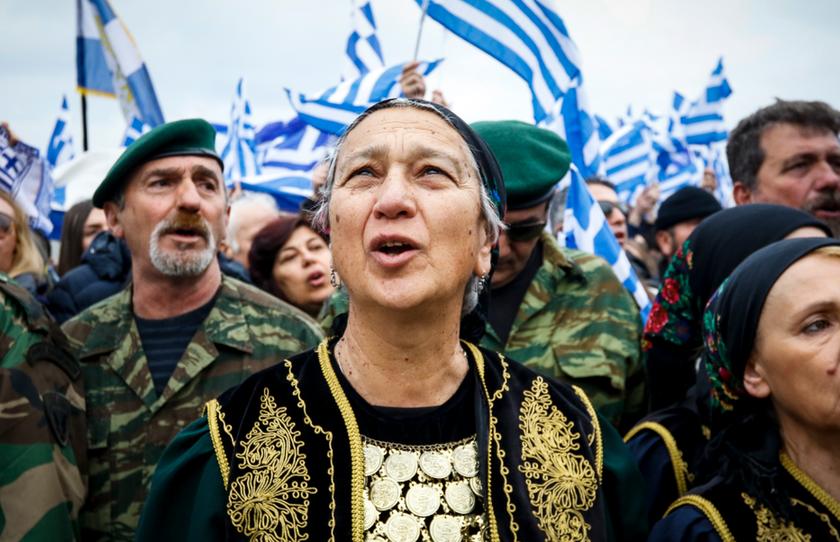 Συλλαλητήριο Θεσσαλονίκη: «Εκκωφαντικό» το μήνυμα του κόσμου για το Σκοπιανό (pics+vid)