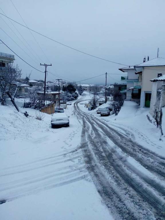 Χιονισμένος Σόχος Θεσσαλονίκης