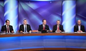 To Κυπριακό και οι υδρογονάνθρακες στο επίκεντρο του debate για τις προεδρικές εκλογές (pic)