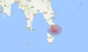 Σεισμός κοντά στη Νεάπολη Λακωνίας (pic)