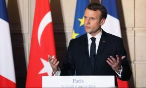 Έντονη ανησυχία Μακρόν για την εισβολή της Τουρκίας στη Συρία