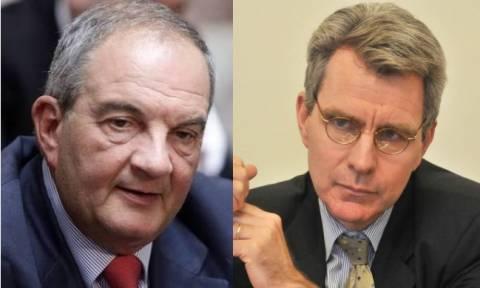 Ομολογία - σοκ από τον πρέσβη των ΗΠΑ: Πιέζαμε τον Καραμανλή για το Σκοπιανό