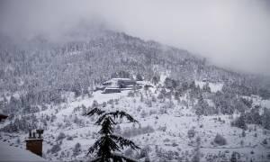 Καιρός ΤΩΡΑ: Χιονίζει στα βόρεια προάστια της Αθήνας - Πού θα το «στρώσει» τις επόμενες ώρες (vid)