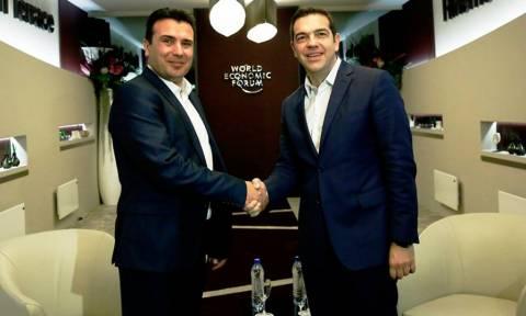 Κρίσιμη συνάντηση Τσίπρα-Ζάεφ στο Νταβός: Επί τάπητος οι προτάσεις Νίμιτς