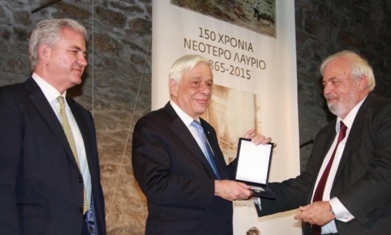Προκόπης Παυλόπουλος: Ανακηρύχθηκε επίτιμος δημότης Λαυρεωτικής