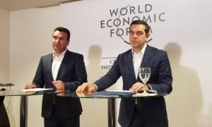 Τσίπρας σε Ζάεφ: Αντιμετωπίστε τον αλυτρωτισμό και μετά μιλάμε για όνομα