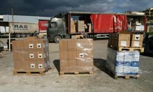 Ηράκλειο: «Φρένο» σε επικίνδυνο φορτίο στο λιμάνι (pics)