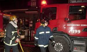 Φωτιά: Υπό έλεγχο η πυρκαγιά σε μονοκατοικία στην Παλλήνη