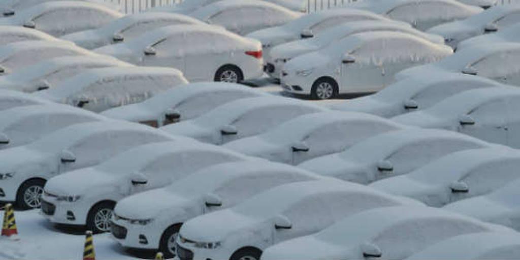 Σε «πορτοκαλί» συναγερμό η Κίνα: Σφοδρές χιονοθύελλες σαρώνουν την Κίνα (Pics+Vids)