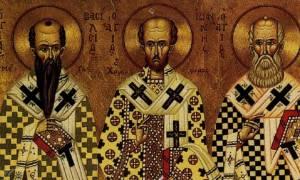 Μήνυμα της Ιεράς Συνόδου για την εορτή των Τριών Ιεραρχών
