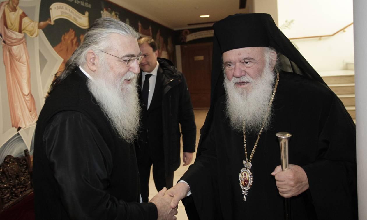 Σκοπιανό: Έκτακτη συνεδρίαση της Ιεράς Συνόδου υπό τον Αρχιεπίσκοπο Ιερώνυμο