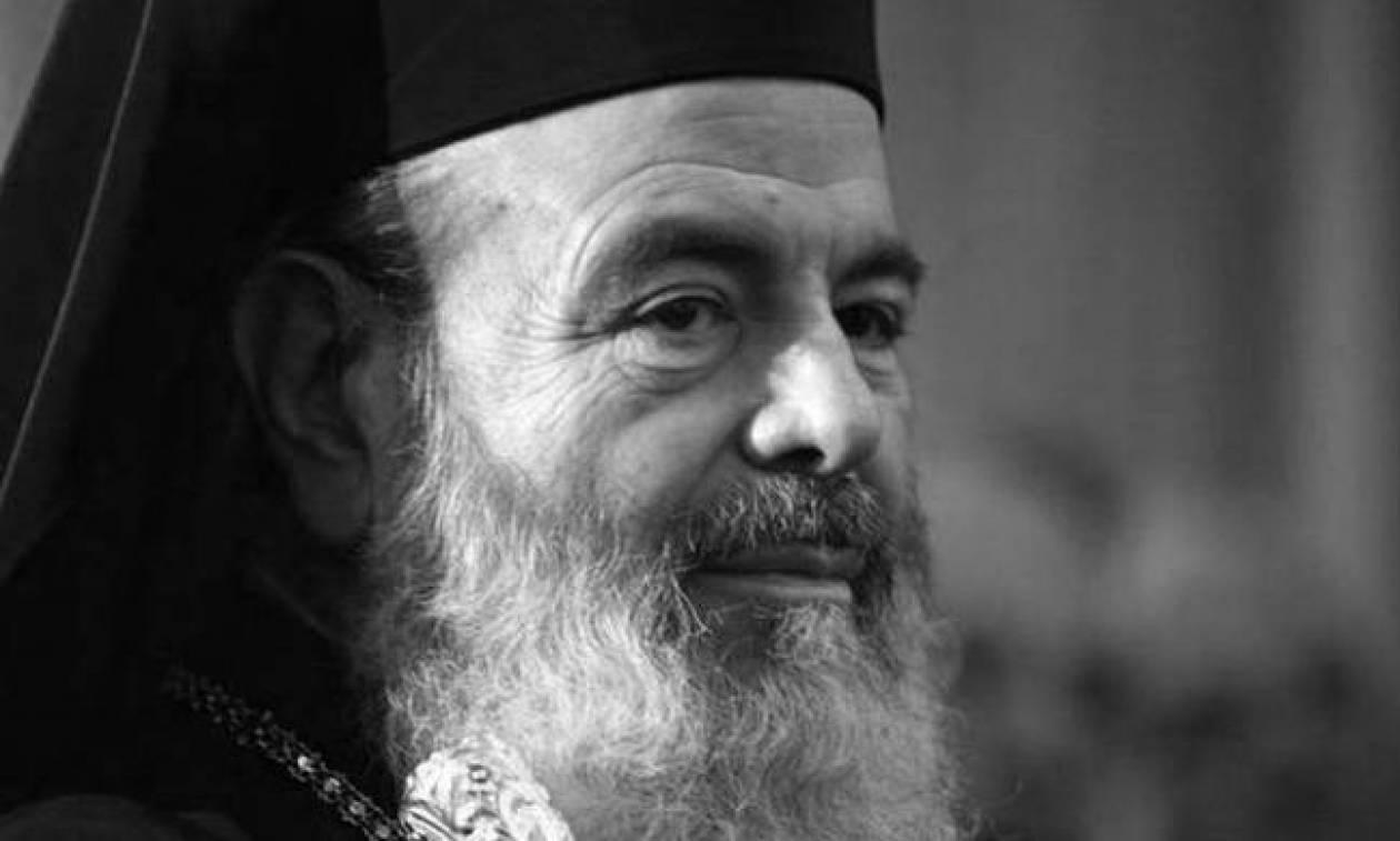 Τρισάγιο στη μνήμη του μακαριστού αρχιεπισκόπου Χριστόδουλου