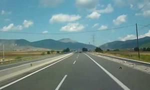 ΠΡΟΣΟΧΗ: Κλειστή η Εγνατία Οδός στο ρεύμα προς Βέροια