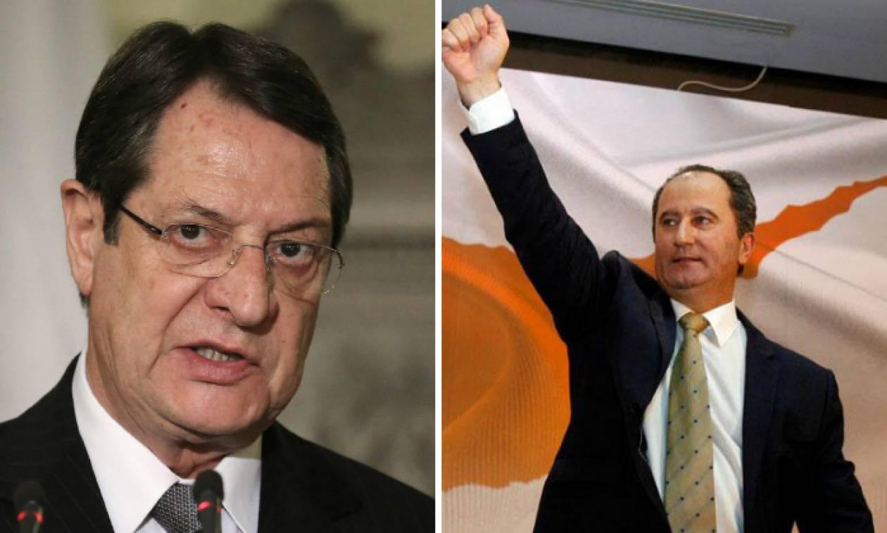 Προεδρικές εκλογές Κύπρος: Στο β' γύρο Αναστασιάδης – Μαλάς – Την επόμενη Κυριακή η κρίσιμη μάχη