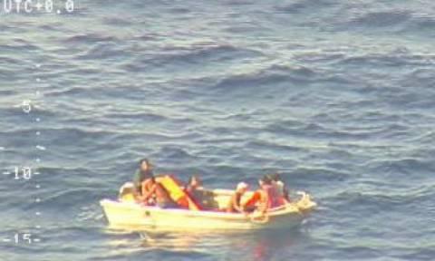 Νέα Ζηλανδία: Εννέα μέρες μετά το ναυάγιο βρήκαν επιζώντες στη μέση του Ειρηνικού Ωκεανού