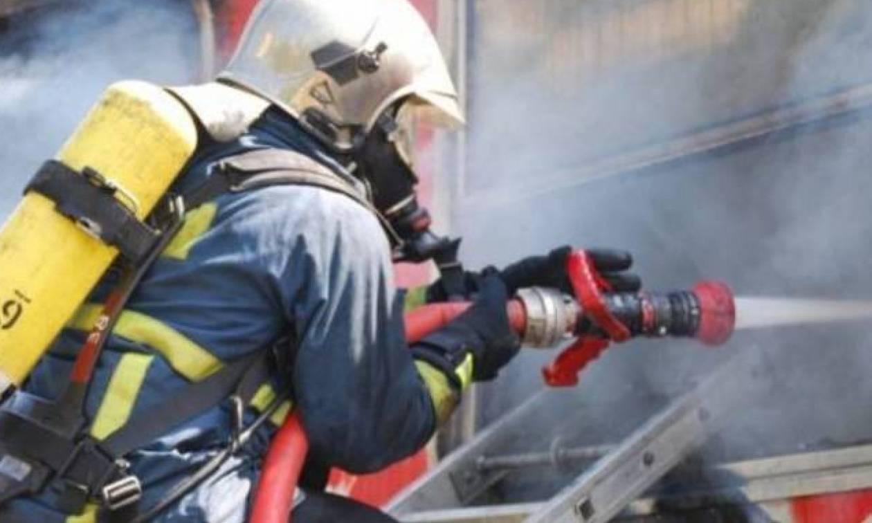 Πάτρα: Συναγερμός για φωτιά σε σχολείο (pics)