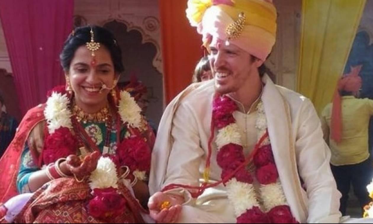 Ινδικός γάμος με… Κρητικό γαμπρό (pics)