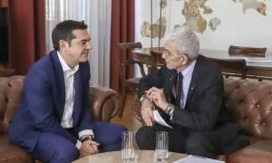 Συνάντηση Τσίπρα-Μπουτάρη στη Θεσσαλονίκη