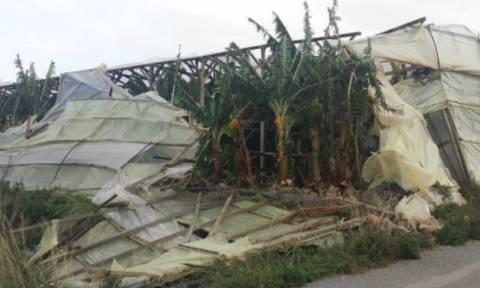 Κακοκαιρία: Σε κατάσταση έκτακτης ανάγκης η Ιεράπετρα