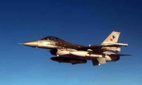 «Πόλεμος» στο Αιγαίο: Νέο μπαράζ παραβιάσεων από τουρκικά αεροσκάφη
