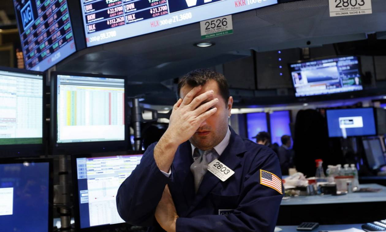 Δεύτερη μέρα με σημαντικές απώλειες στη Wall Street
