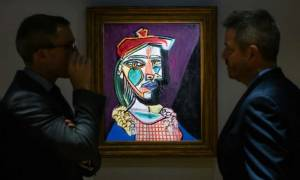 Σπάνιος πίνακας του Πικάσο εκτίθεται στο Χονγκ Κονγκ (pic)
