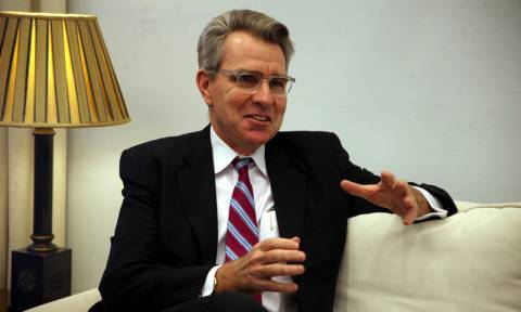 Αισιόδοξος ο πρέσβης των ΗΠΑ για την επίλυση του ζητήματος των Σκοπίων
