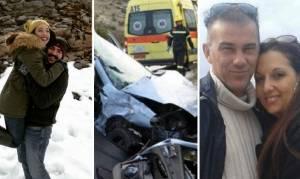 Πολύνεκρο τροχαίο Κρήτη: Ο τραγικός πατέρας δεν γνωρίζει ότι έχασε σύζυγο, κόρη και γαμπρό
