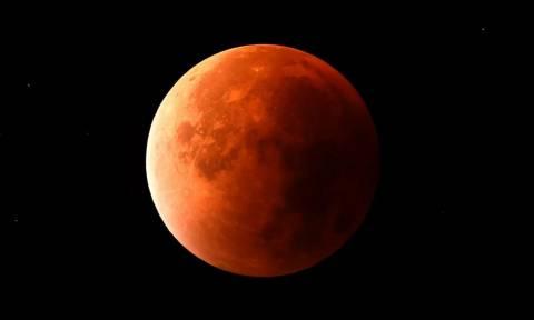 Σούπερ Μπλε Ματωμένο Φεγγάρι: Δείτε το σπανιότερο φαινόμενο των τελευταίων 150 χρόνων