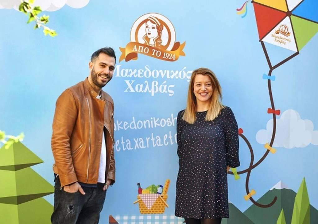 Γιάννης Τσούλης, Σεφ και Λήδα Παπάζογλου-Βατσάκη, Marketing Manager «Μακεδονικός Χαλβάς
