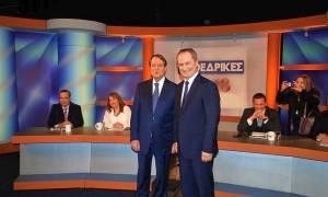 Εκλογές Κύπρος: Με ενωτική διάθεση ολοκληρώθηκε το debate Αναστασιάδη - Μαλά