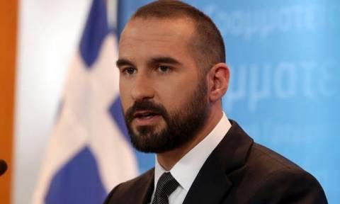 Τζανακόπουλος για Σκοπιανό: Η κυβέρνηση διαπραγματεύεται για συνολική συμφωνία