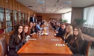 Στον Άρειο Πάγο φοιτητές της Νομικής Σχολής  του Ευρωπαϊκού Πανεπιστημίου Κύπρου