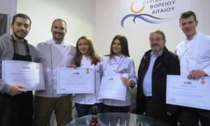 H Περιφέρεια Βορείου Αιγαίου βραβεύει το ΙΕΚ ΑΛΦΑ στην 5η ΕΞΠΟΤΡΟΦ
