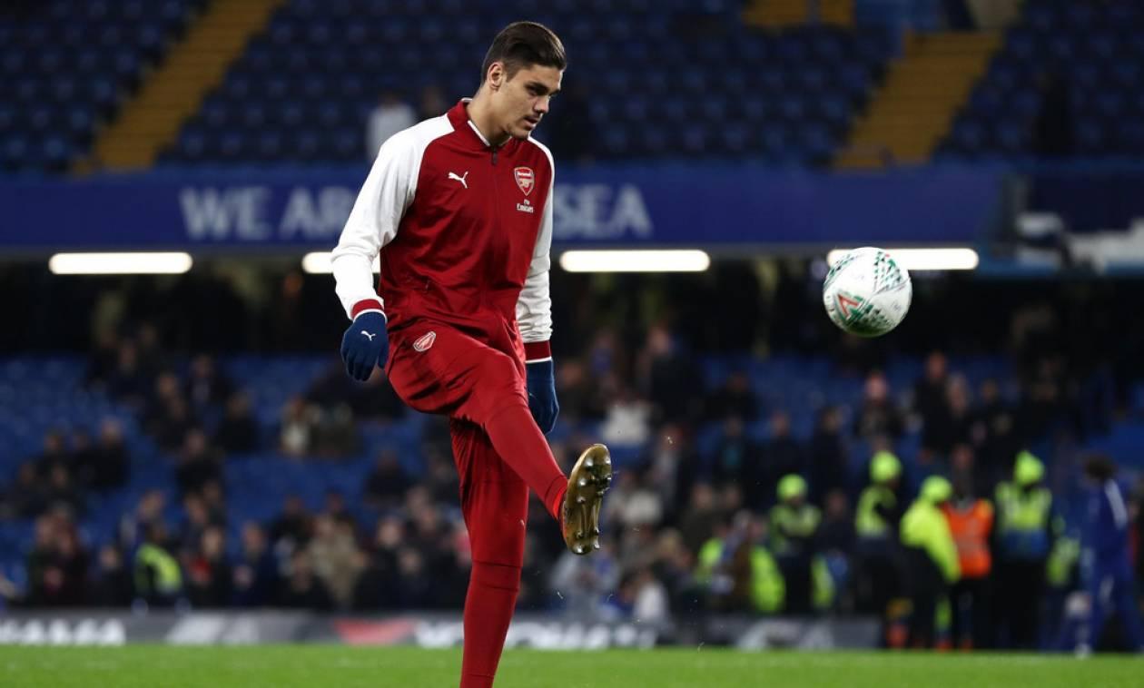 Άρσεναλ: Στη λίστα του Europa League ο Μαυροπάνος (pics)