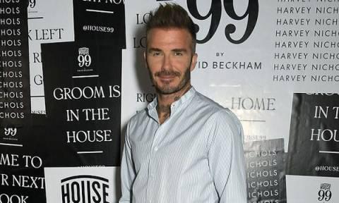 Ο David Beckham ποζάρει με τη νεογέννητη ανιψιά του και «ρίχνει»το Instagram. Δείτε γιατί (pics)