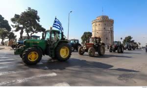 Θεσσαλονίκη: Στο κέντρο κατεβαίνουν τα τρακτέρ