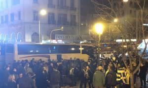 Συλλαλητήριο Αθήνα: Αναχώρησαν τα πρώτα λεωφορεία από Θεσσαλονίκη (pics)