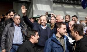 Συλλαλητήριο Αθήνα: Ο Αντώνης Σαμαράς στο συλλαλητήριο για τη Μακεδονία