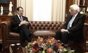 Εκλογές Κύπρος: Συγχαρητήριο τηλεφώνημα Παυλόπουλου στον Αναστασιάδη