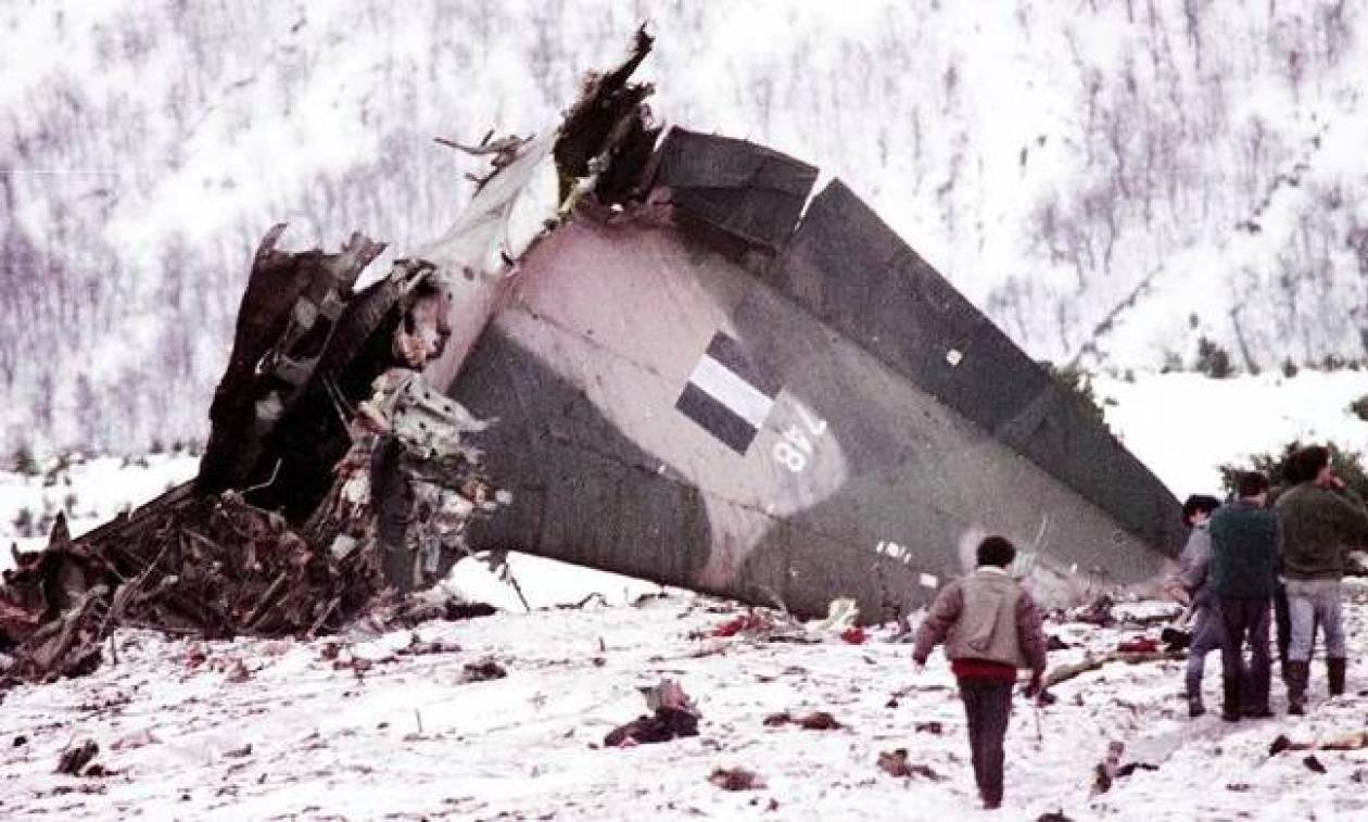 Σαν σήμερα το 1991 συντρίβεται στο Όρος Όθρυς το C-130 της Πολεμικής Αεροπορίας με 63 νεκρούς